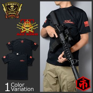 ALL KING(オールキング) イチロープリント ドライTシャツ|swat
