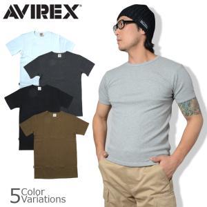 AVIREX(アビレックス) S/S CREW NECK T-SHIRT デイリー クルーネック 半袖 Tシャツ 6143502|swat
