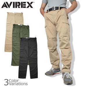 AVIREX(アビレックス) FATIGUE PANTS ファティーグ カーゴ パンツ6166110|swat