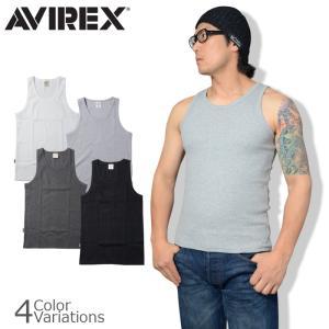 AVIREX(アビレックス) TANK TOP ( WIDE BACK ) デイリー タンクトップワイドバック 6143507|swat