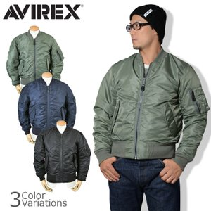 AVIREX(アビレックス) MA-1 COMMERCIAL フライトジャケット エムエーワン コマーシャル ボンバージャケット 6132077|swat