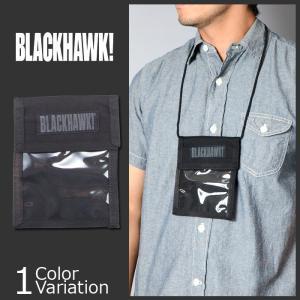 BLACK HAWK!(ブラックホーク) Neck ID Bade Holder ネック アイディー バッジ ホルダー【クロネコDM便】90ID01BK swat