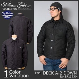 """Buzz Rickson's(バズリクソンズ) """"WILLIAM GIBSON COLLECTION"""" TYPE DECK A-2 DOWN デッキ ダウン ジャケット BR13930
