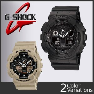 CASIO(カシオ) G-SHOCK GA-100-1A1JF/GA-100SD-8AJF 樹脂バンド swat