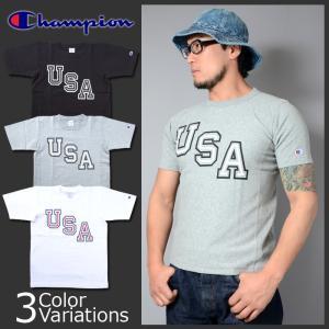 Champion(チャンピオン) リバースウィーブTシャツ 17SS リバースウィーブ チャンピオン C3-F305|swat
