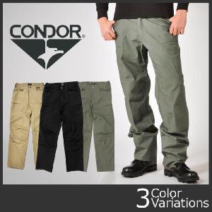 CONDOR OUTDOOR(コンドル アウトドア) ステルスオペレーターパンツ ライトウェイト リップストップ 610T|swat