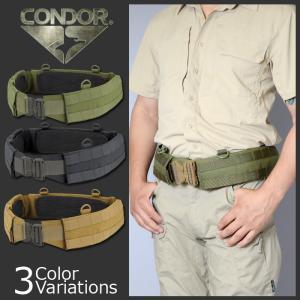 CONDOR OUTDOOR(コンドル アウトドア) Slim Battle Belt スリム バトル ベルト 121160|swat