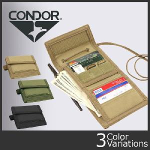 CONDOR OUTDOOR(コンドル アウトドア) ヴォールト トライフォールド ウォレット VAULT Tri-fold Wallet 235|swat