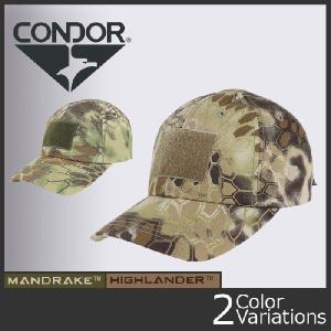 CONDOR OUTDOOR(コンドル アウトドア) タクティカル キャップ クリプテック Tactical Cap KRYPTEK TC-016/TC-017|swat