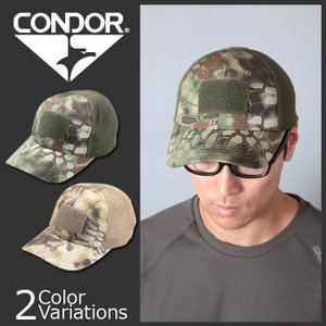 CONDOR OUTDOOR(コンドル アウトドア) Tactical Cap Mesh KRYPTEK タクティカル メッシュ キャップ クリプテック TCM-01|swat