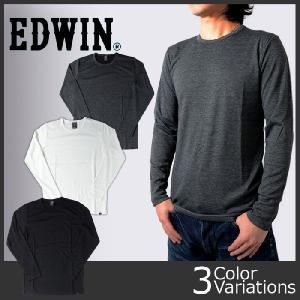 EDWIN(エドウィン) BODY FIRE クルーネック 長袖Tシャツ 57295 swat