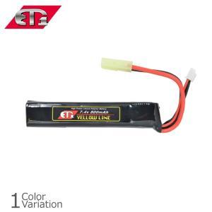 ET-1(イーティーワン) 7.4v800mAh(イエローライン)リポバッテリー ETY208ネコポス対応 swat