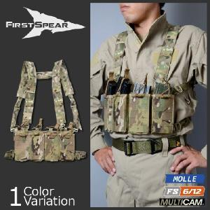 FirstSpear(ファーストスピアー) M4/AK Chest Rig 6/12 Multicam (M4/AK チェストリグ 6/12 マルチカム) 500-12-00002-5004-00 swat