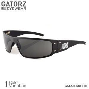 GATORZ(ゲイターズ) PATRIOT MAGNUM パトリオット マグナム サングラス 【正規取り扱い】AM-MAGBLK01|swat