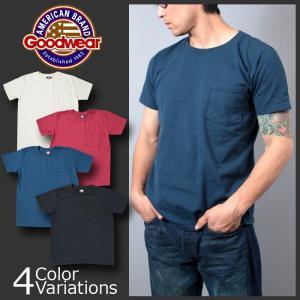 GOODWEAR(グッドウェア) クルーネック ポケット Tシャツ スリムフィット CREW NECK POCKET T SHIRT Slim FitGDW-202|swat