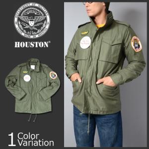"""HOUSTON(ヒューストン) M-65 ジャケット """"KING KONG COMPANY"""" タクシードライバーモデル 50308 swat"""