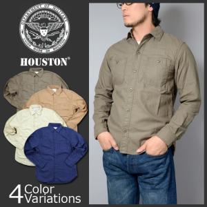 HOUSTON(ヒューストン) MILITARY SHIRTS / ミリタリー シャツ 2016 S/S 40148|swat