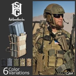 HighSpeedGear(ハイスピードギア) X2R TACO DOUBLE RIFLE MAG POUCH エックスツーアール タコ ダブル ライフル マグ ポーチ|swat
