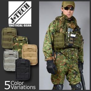 J-TECH(ジェイテック) FARER-6 MOLLE MEDICAL POUCH メディカルポーチJT-101|swat