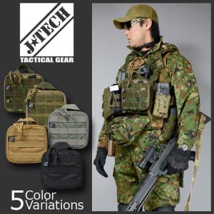 J-TECH(ジェイテック) MOLLE TOOL POUCH ツール ポーチ 【中田商店】JT-134|swat