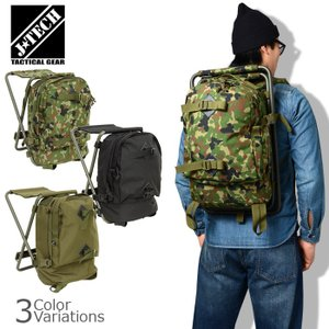 J-TECH(ジェイテック) ECITON-I バックパックチェア BACKPACK CHAIR 【中田商店】 JT-122|swat
