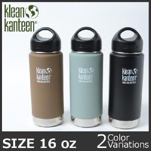 KleanKanteen(クリーンカンティ−ン)INSULATED インスレート ステンレス製保温保冷マグボトル 16oz (473ml) K16-VWSSL|swat