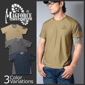 MAGFORCE(マグフォース) Patchwork T-shirt COOLPASS パッチワーク Tシャツ クールパス C-0112|swat