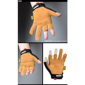 MECHANIX WEAR(メカニクス ウェアー) Leather M-Pact Framer Glove レザー エムパクト フレーマー グローブ LFR-75|swat|02