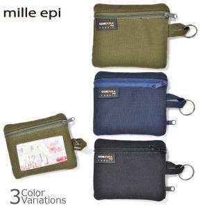 mille epi(ミレピィ) CORDURA FABRIC パスケース コーデュラ ファブリック CDP-00007ネコポス対応|swat