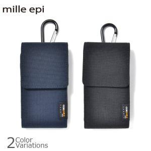 mille epi(ミレピィ) CORDURA FABRIC スマートフォン ポーチ コーデュラ ファブリック CDP-00017|swat