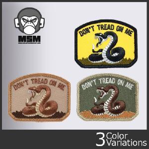Mil Spec Monkey(ミルスペックモンキー) ミリタリーワッペン Don't Tread (ドントトレード) パッチ クロネコDM便対応|swat
