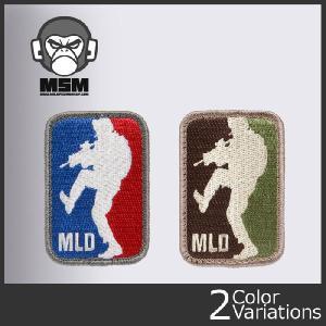 Mil Spec Monkey(ミルスペックモンキー) ミリタリーワッペン MLD Major League Doorkicker (メジャーリーグドアキッカー) パッチ クロネコDM便対応 swat