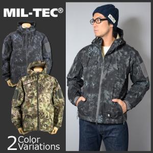 MIL-TEC(ミルテック) ハードシェルパーカー 【中田商店】 MT-121 / MT-122|swat