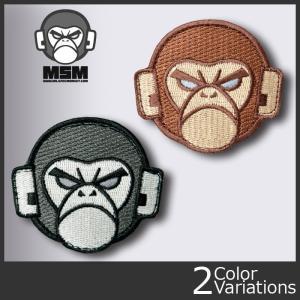 Mil Spec Monkey(ミルスペックモンキー) ミリタリーワッペン MONKEY HEAD LOGO(モンキーヘッドロゴ)patch-00113 クロネコDM便対応 swat