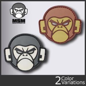 Mil Spec Monkey(ミルスペックモンキー) ミリタリーワッペン Monkey Head PVC (モンキーヘッド ラバー) patch-00113 クロネコDM便対応 swat