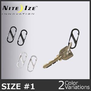 NITE IZE(ナイトアイズ) エスビナーステンレス#1 (2個セット) swat