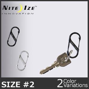 NITE IZE(ナイトアイズ) エスビナーステンレス#2 swat
