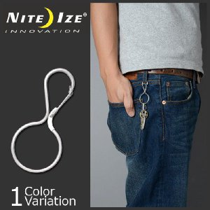 NITE IZE(ナイトアイズ) Infini-Key インフィニキー キーチェーン KIC-11-R3 swat