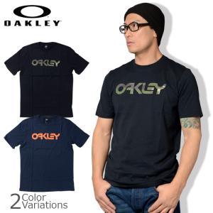 OAKLEY(オークリー) MARK 2 TEE ロゴ プリント Tシャツ 【レターパック360対応】 457133|swat