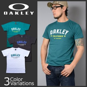 OAKLEY(オークリー) CIRCULAR TECHNICAL TC TEE .17.02 吸汗速乾 Tシャツ 456685JP|swat