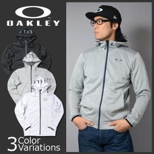 OAKLEY(オークリー) ENHANCE TECHNICAL FLEECE JACKET GRID 8.0 エンハンス テクニカル フリース ジャケット グリッド 461654JP|swat