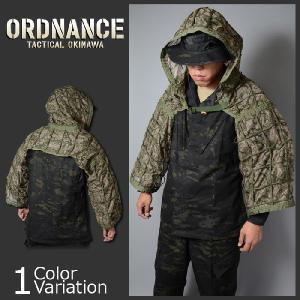 ORDNANCE TACTICAL OKINAWA(オードナンス) HABU HOOD Tricot Green Camo ハブフード ハーフギリー トリコ グリーンカム NO.14032751|swat