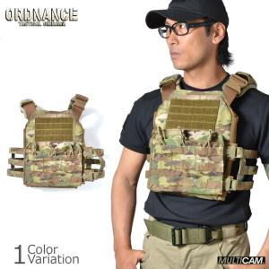 ORDNANCE TACTICAL OKINAWA(オードナンス) PLATE CARRIER COBRA TYPE プレートキャリア コブラ タイプ PCC01|swat