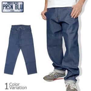 PRISON BLUES(プリズン ブルース) DENIM WORK PANTS デニム ワーク パンツ PRB122|swat