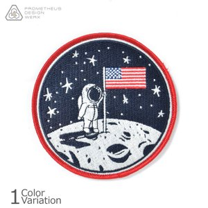 PDW Man On The Moon 50th Anniversary LTD ED Morale Patch パッチ PDAPA052|swat