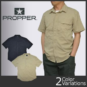 PROPPER(プロパー) STL Shirt - Short Sleeve(STLシャツ 半袖) F53531G【PR-53-BK/KH】|swat