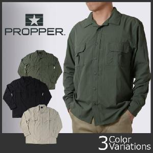 PROPPER(プロパー) SONORA SHIRT LS(ソノラシャツ長袖) F536777|swat