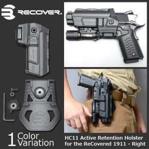 RECOVER TACTICAL(リカバー タクティカル) HC11 Active Retention Holster for the ReCovered 1911 - RightHC11ARB|swat