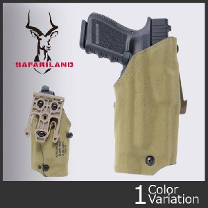 SAFARILAND(サファリランド) Model 6378USN ALS Low Signature Holster (GLOCK19 with M3,X300 ロウ シグネチャー ホルスター) 6378USN-2832-751-MS19|swat