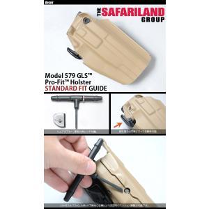 SAFARILAND(サファリランド) GLS Pro-Fit Holster (with Belt Clip) STANDARD プロフィット ホルスター ベルトクリップ スタンダード 579-83 swat 02